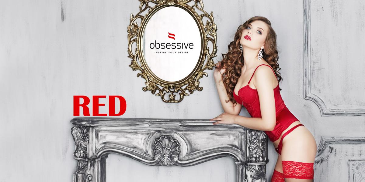 「いい女」4つのタイプ別 Obsessiveの赤ランジェリー