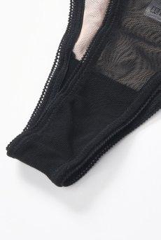 画像10: Alquarte Bouquet タンガ(Tバック・ブラック・TypeB)[TA002-black]※メール便対象【送料無料】 日本製・高級ランジェリー (10)