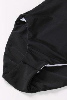 画像10: Alquarte Miami Bebe スイム・ウェア(ブラック×ホワイト・水着)[SW041 Black]【送料無料】 日本製・高級ランジェリー (10)