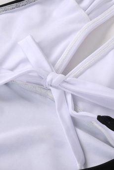 画像11: Alquarte Miami Bebe スイム・ウェア(ブラック×ホワイト・水着)[SW041 Black]【送料無料】 日本製・高級ランジェリー (11)