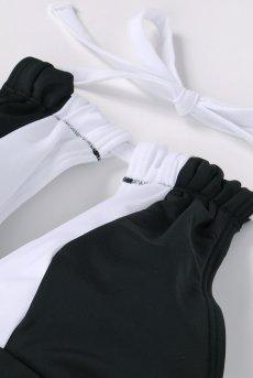画像12: Alquarte Miami Bebe スイム・ウェア(ブラック×ホワイト・水着)[SW041 Black]【送料無料】 日本製・高級ランジェリー (12)