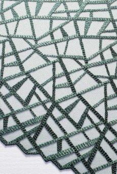 画像16: 一枚レースブラ(ノンパテッドブラ・バルコネット・B〜Iカップ・2枚接ぎ・ダークグリーン)[DIAMOND green B139]【送料無料】輸入下着・高級ランジェリー (16)