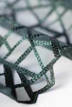 画像17: 一枚レースブラ(ノンパテッドブラ・バルコネット・B〜Iカップ・2枚接ぎ・ダークグリーン)[DIAMOND green B139]【送料無料】輸入下着・高級ランジェリー (17)