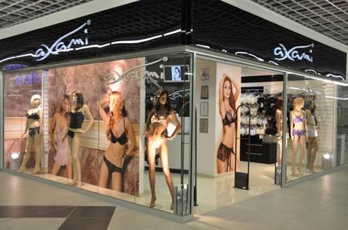 パリの国際見本市に出展したアクサミのブース。ブランド知名度は着実に向上しています。
