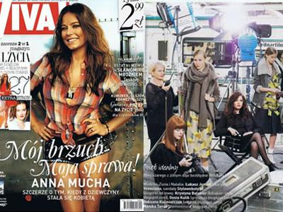 ベネチアナはポーランド国内でも高い知名度を誇り、数々の有名ファッション雑誌に掲載されています。高いデザイン性とクオリティの高さで、ポーランドのトップモデルをはじめ、流行に敏感なファッショニスタたちの間でも人気となっています。