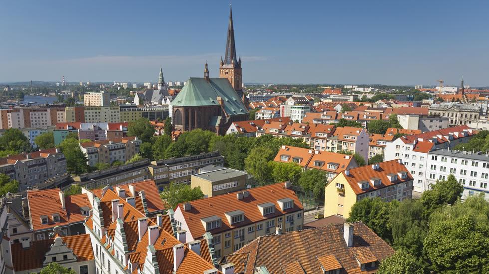 ポーランドの首都ワルシャワ旧市街地
