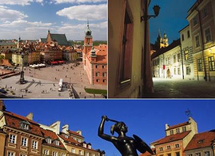 ポーランドの旧都「クラフク」の美しい町並み