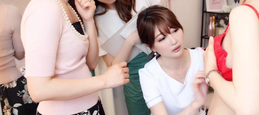 Lingerie Bodymake Adviser 佐藤 友紀・美しいバストを育てるためのブラジャー選び(中級者向け)