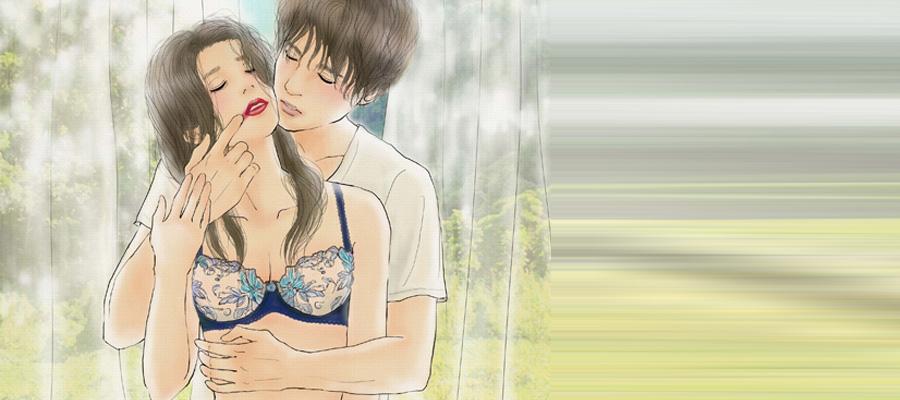 平泉春奈・ランジェリー×イラスト『落ちゆく紅と、堕ちた私 ~官能を愛する女性へ送る言葉~ 最終回』