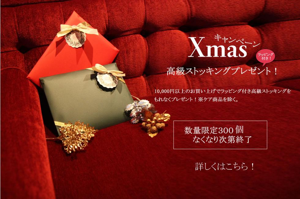 クリスマス限定高級ストッキングorタイツ もれなくプレゼント