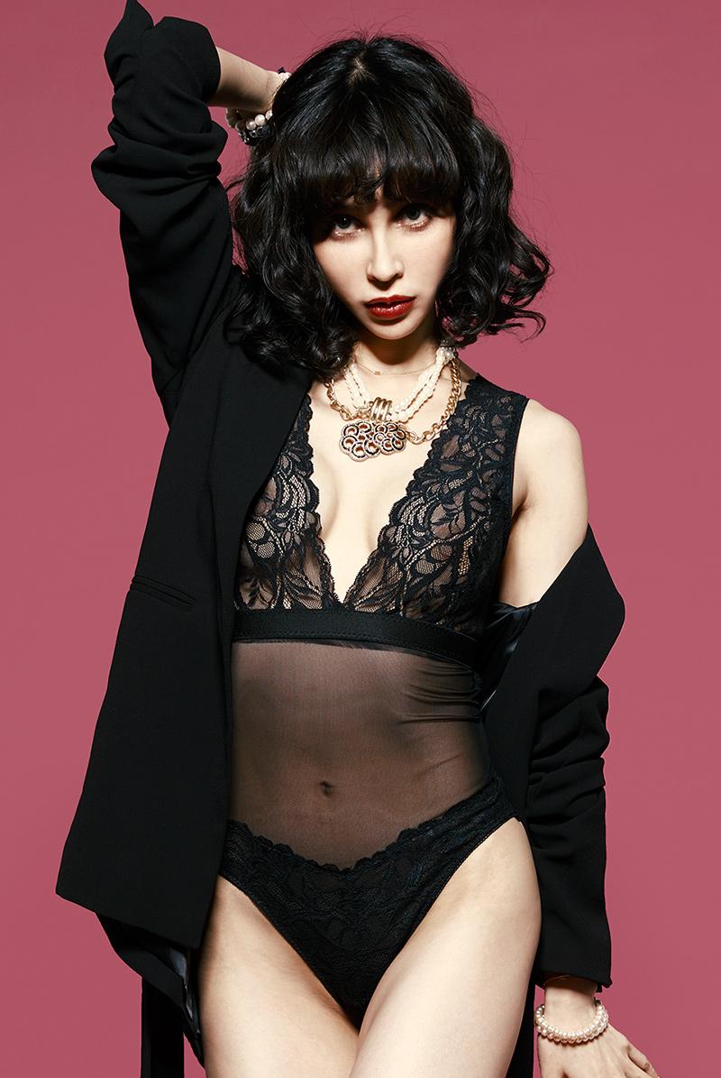 Alquarte テディ/ボディ Candy Teddy Black モデル画像