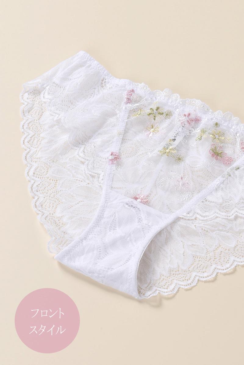 Ewa bien ノーマルショーツ BELLA white C110 商品詳細