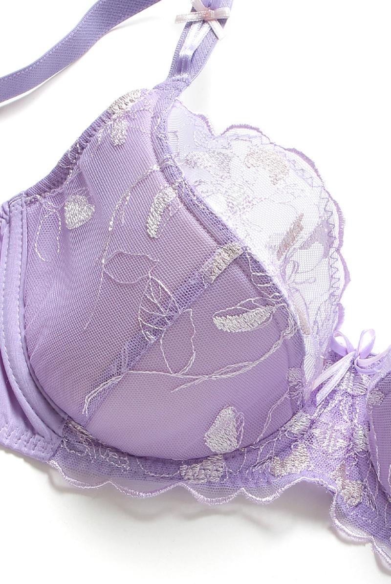 Ewa bien エヴァビアン セミソフトブラ PROMES lilac 商品詳細