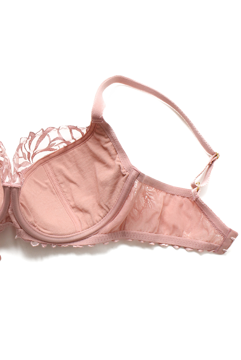 Ewa bien エヴァビアン セミソフトブラ JASMIN pink 商品詳細