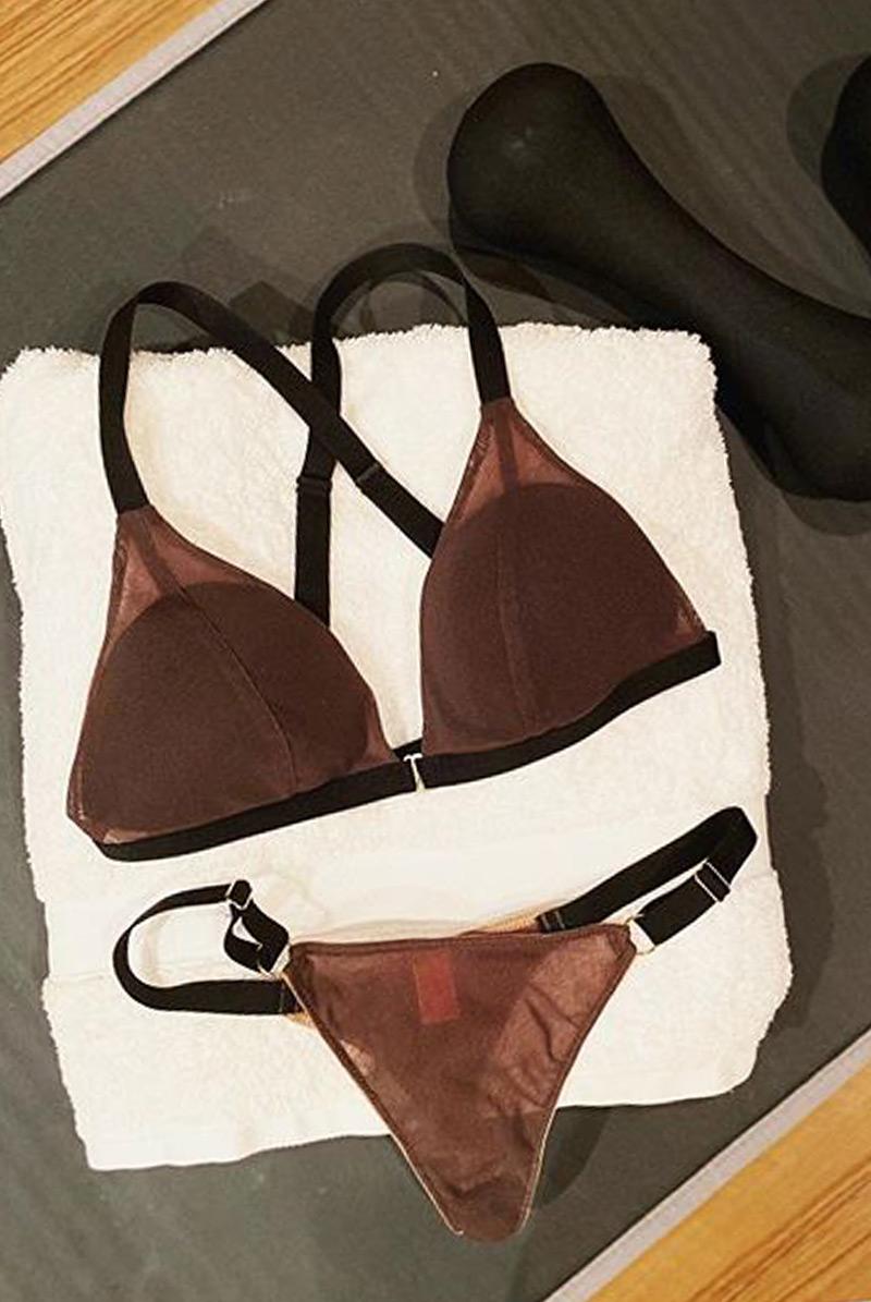 Maimia lingerie ブラレット セット
