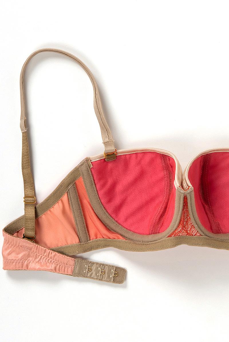 Maimia lingerie ストラップレスブラジャー Strapless bra Grandiflora 商品詳細