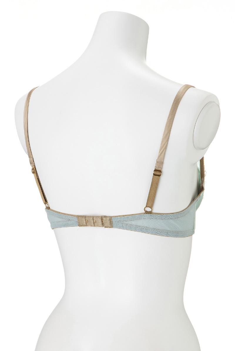 Maimia lingerie バルコネットブラ Balconette bra Acquaverde マネキントルソー