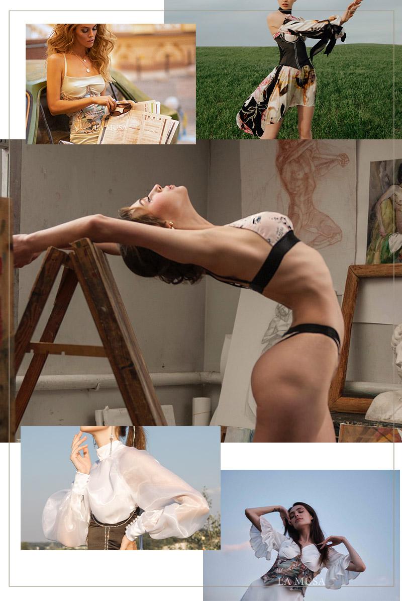 商品ラインナップ La Musa エラトシルクコレクション・ERATO Silk Collection