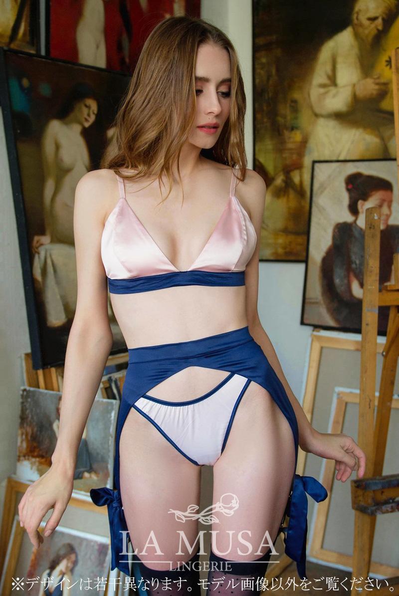 La Musa ラミューザ ブラレット 3点セット ERATO Silk Collection モデル画像