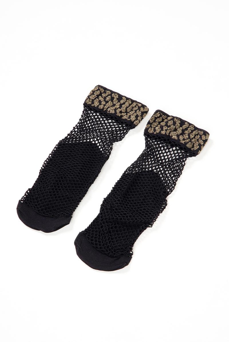 ベネチアナ AYA RETE Socks nero