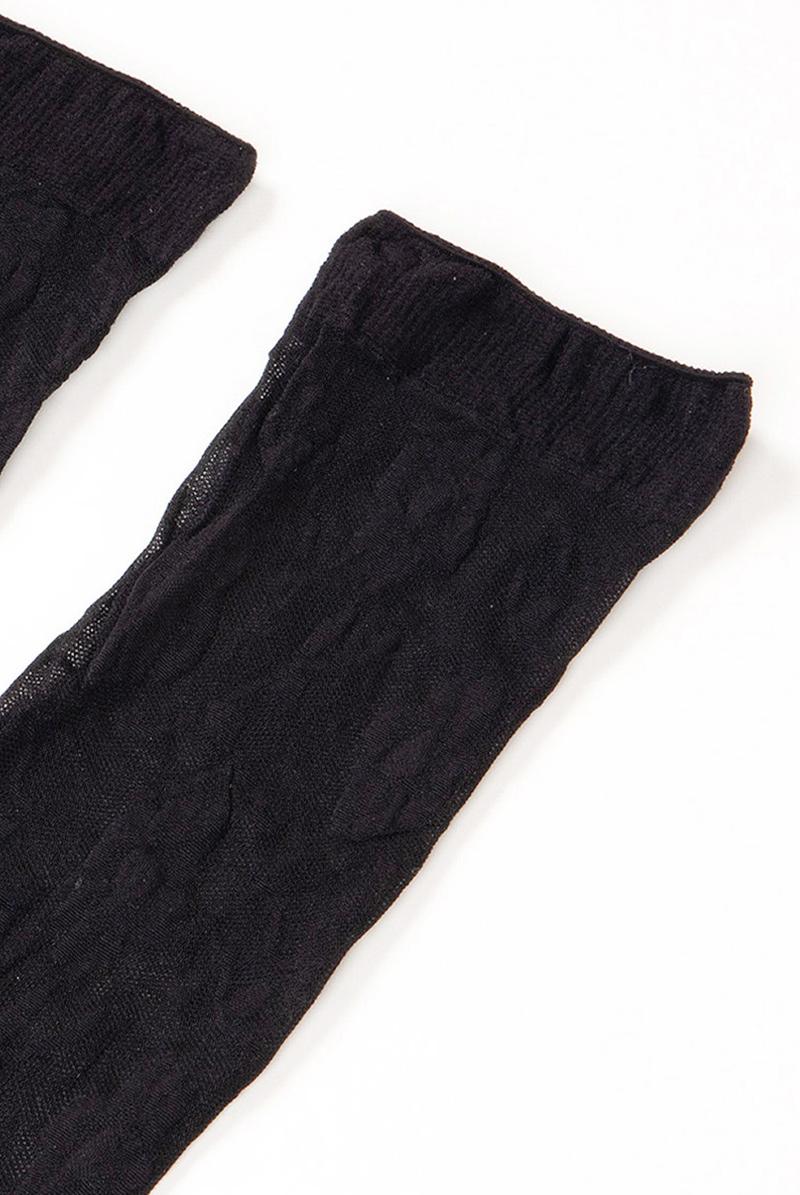 ベネチアナ FIORE Socks nero