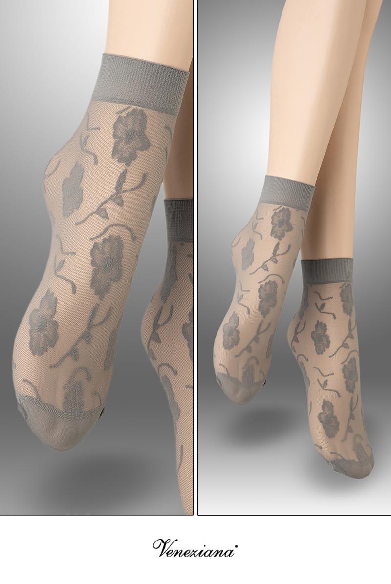 ベネチアナ FIORE Socks grey