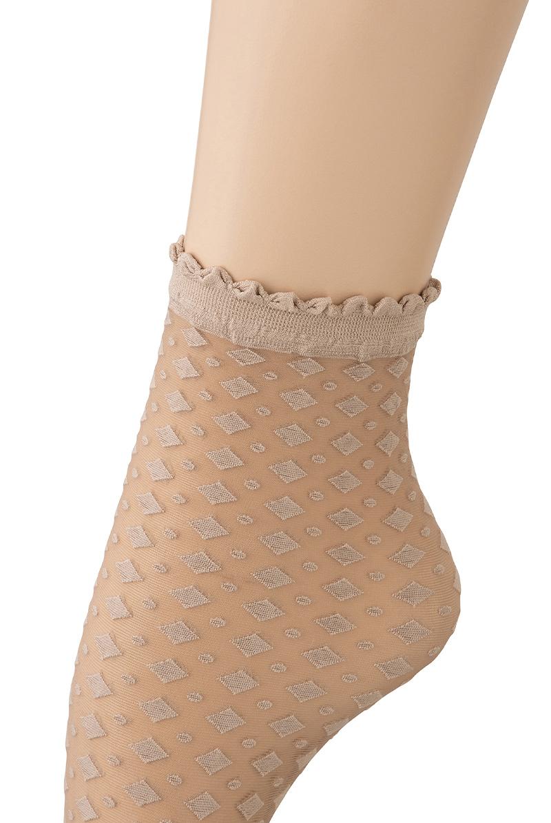 ベネチアナ JENNY Socks nude