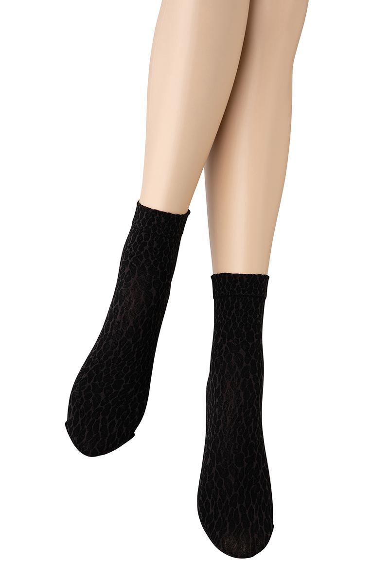 ベネチアナ LEOPARDO Socks grey