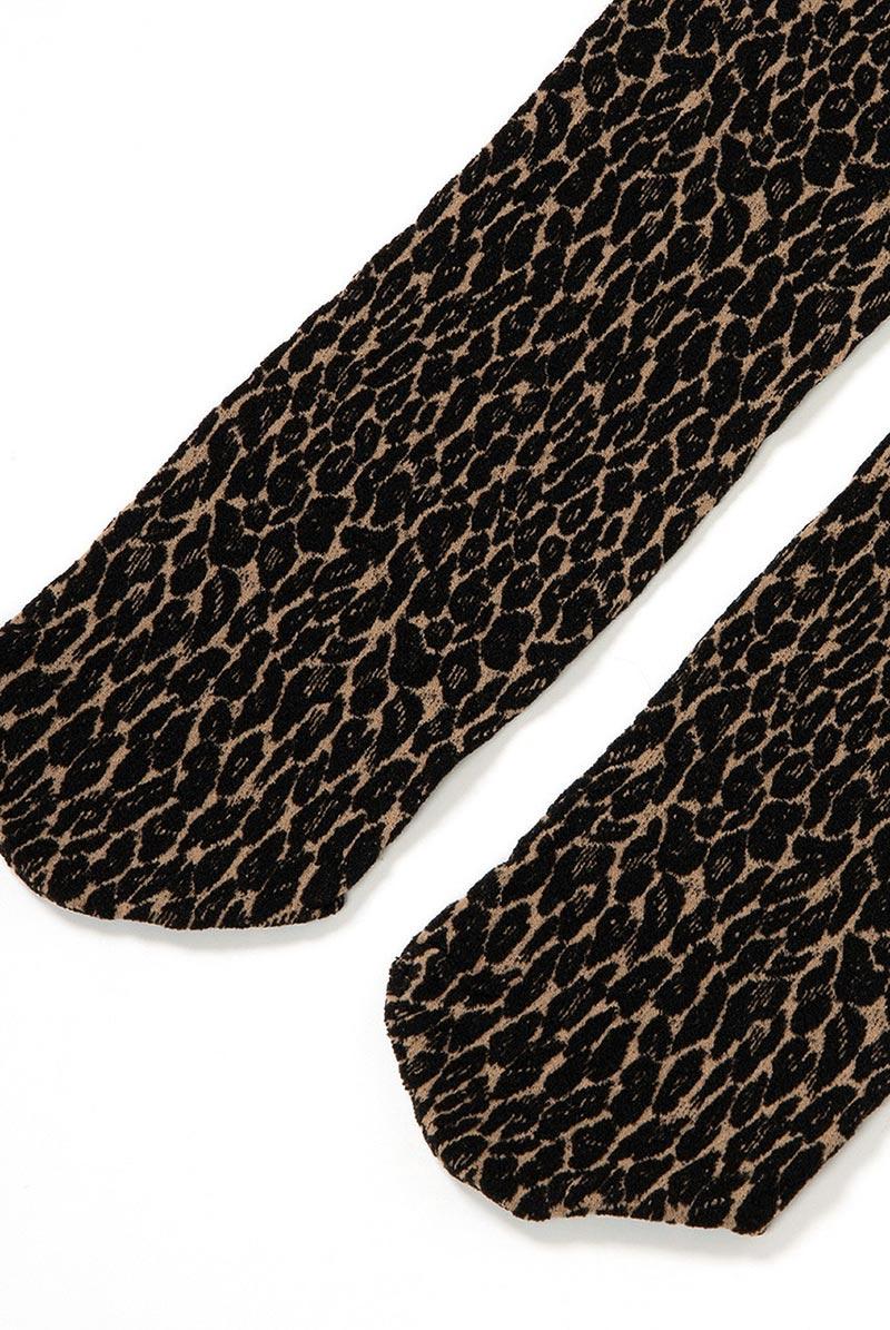 ベネチアナ LEOPARDO Socks beige