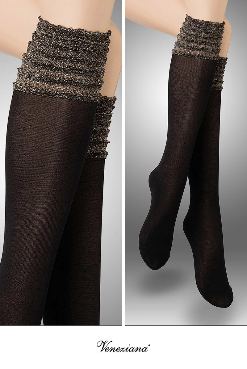 ベネチアナ CIRCUS High-Socks nero