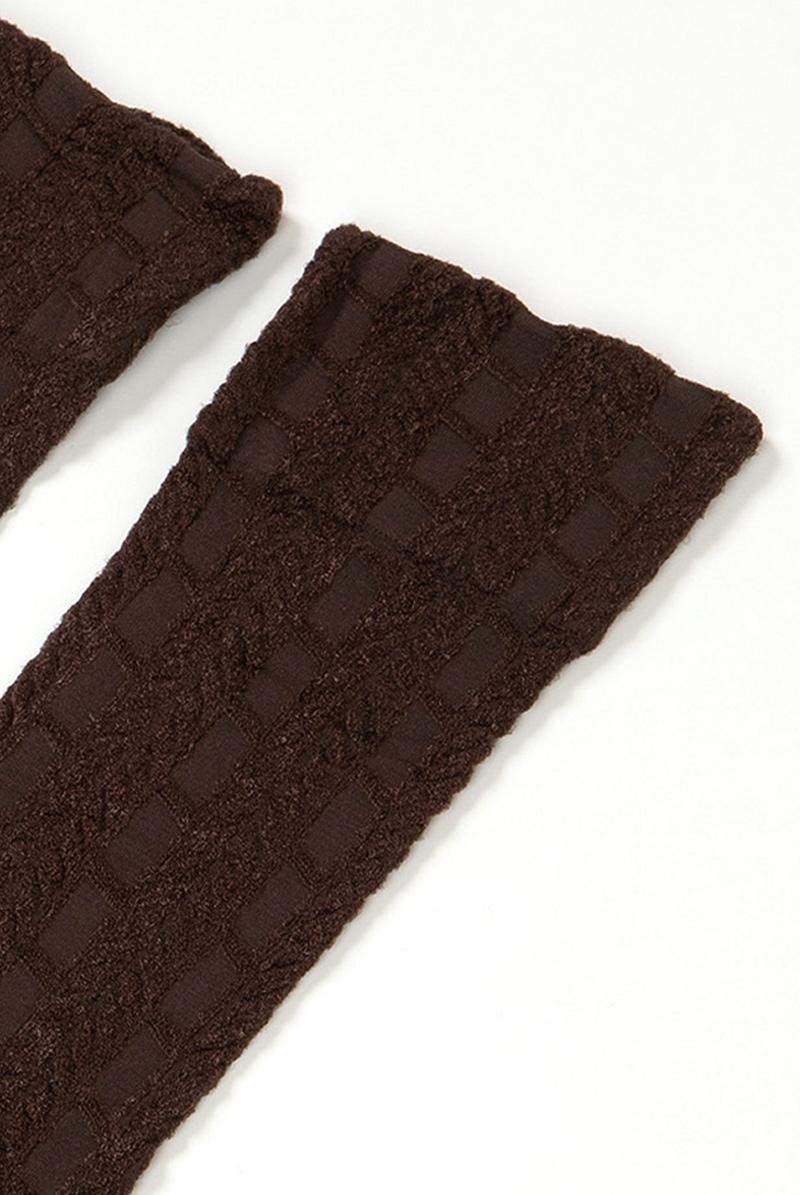 ベネチアナ PETRA High-Socks cappucino