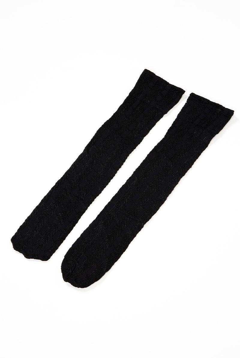 ベネチアナ PETRA High-Socks nero