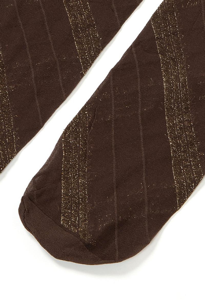 ベネチアナ SPIGA LUREX High-Socks cappucino