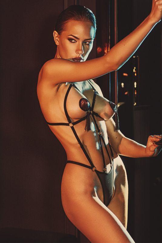 画像1: ハーネス・テディ(オープンバスト・ブラック)[AN2008]【送料無料・即日発送】セクシーランジェリー (1)