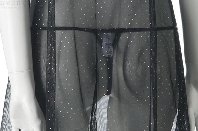 タンガは魅力的なVバックスタイルで、着脱も容易なゴム紐素材です。