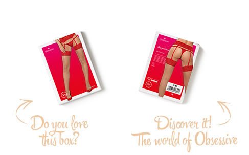 838 STO 3 stockings red
