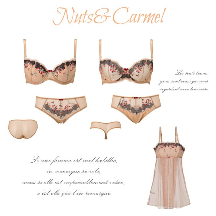 Sawren 2018SS NUTS&CARMEL